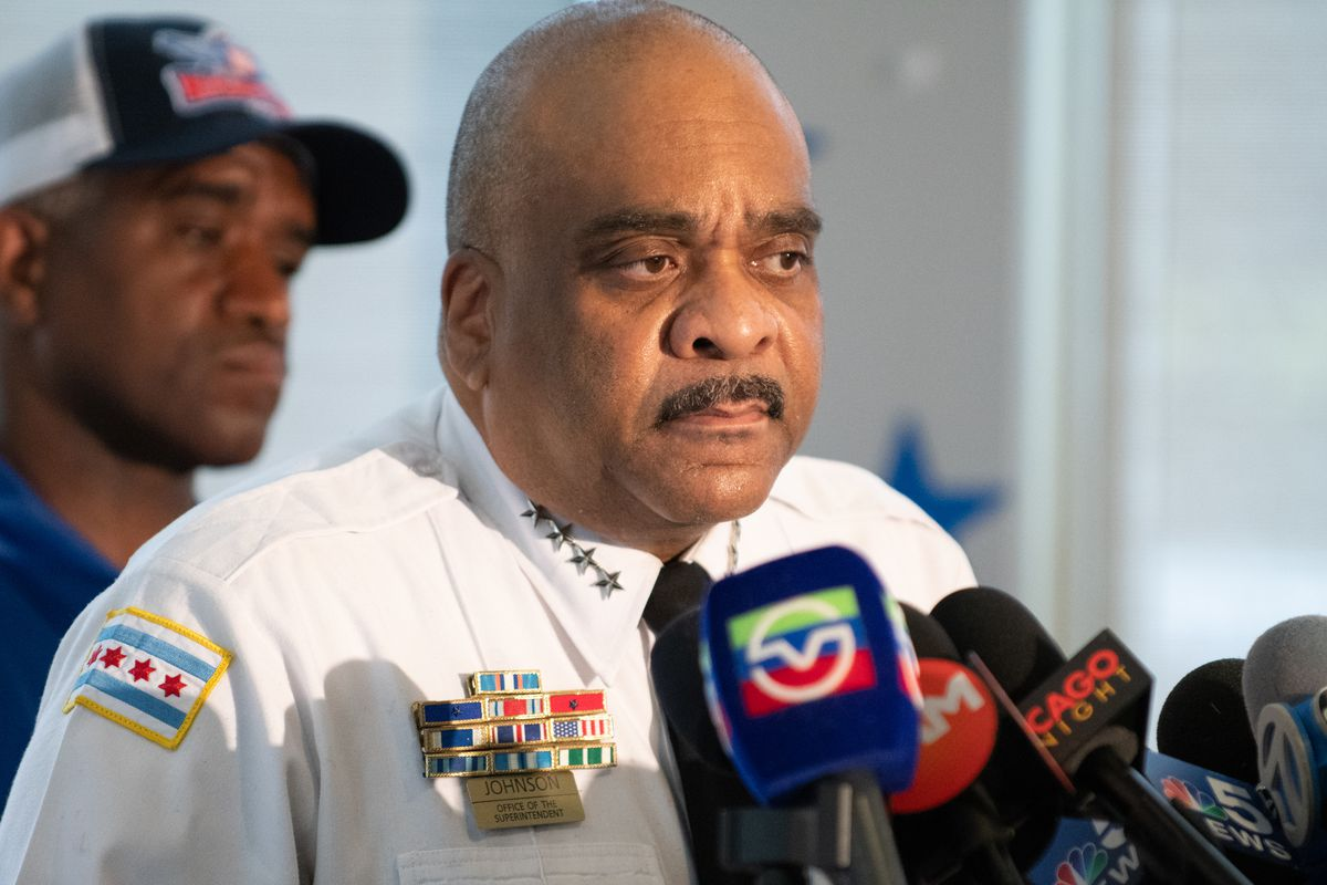 Traveling Chicago Police Supt. Eddie Johnson to miss this week's 'Accountability Monday' meeting with Mayor L…