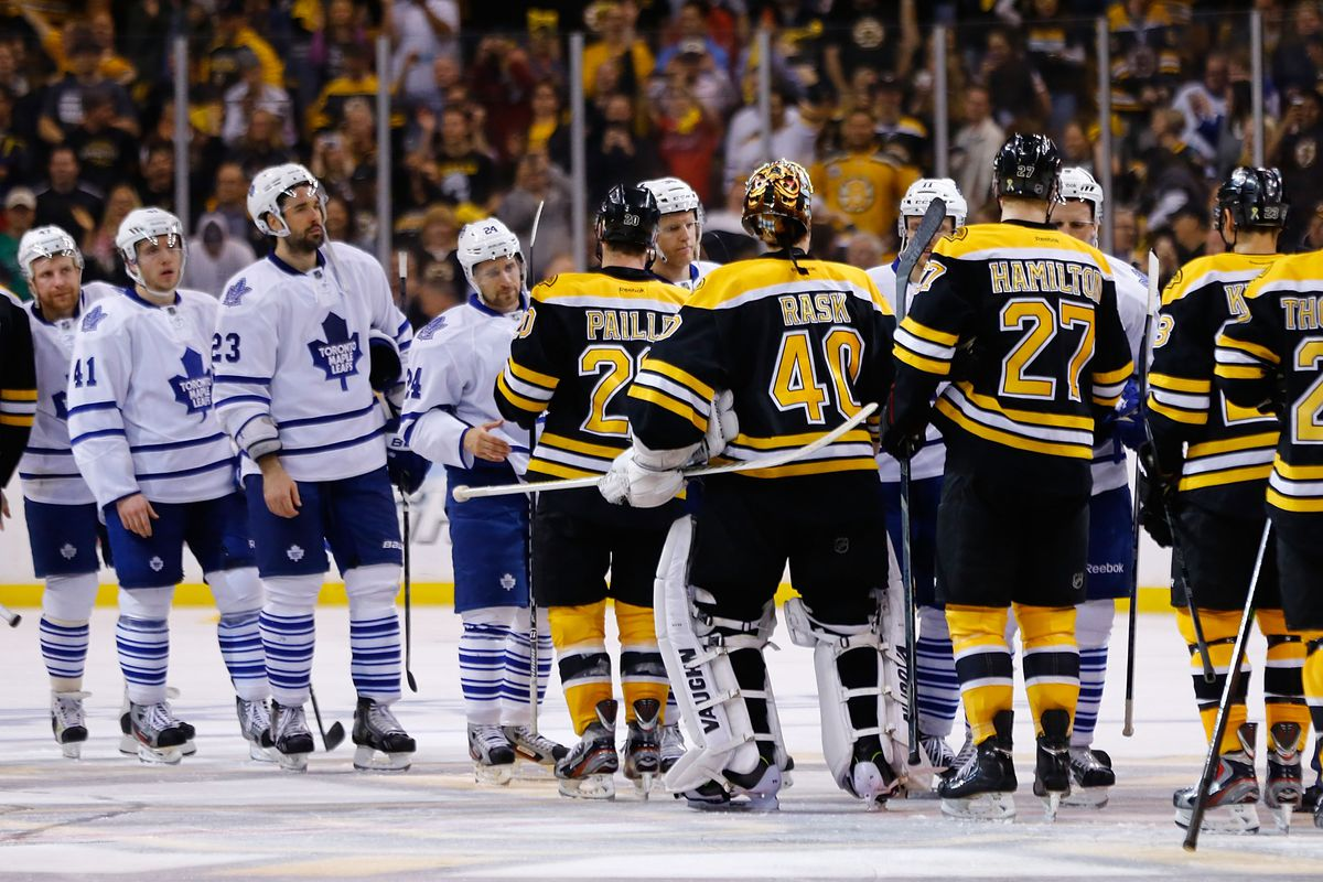 2018 NHL Playoffs  Toronto Maple Leafs vs Boston Bruins playoff ... 3737e4c60