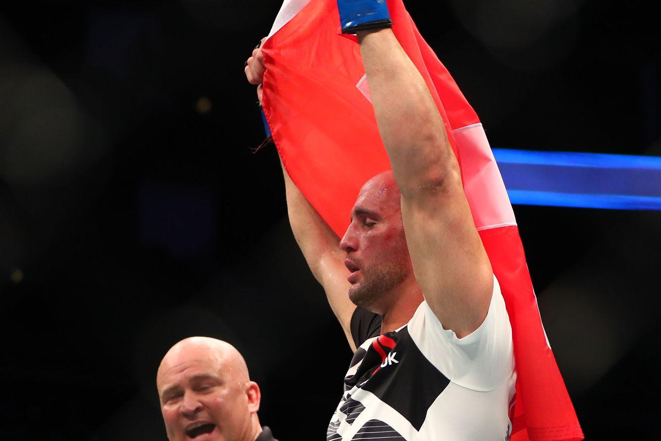 Knockout! Watch Volkan Oezdemir blitz through Misha Cirkunov at UFC Fight Night 109