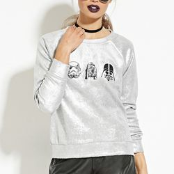 """Metallic pullover, <a href=""""http://www.forever21.com/Product/Product.aspx?br=F21&category=sweater&productid=2000182939"""">$24.90</a>"""