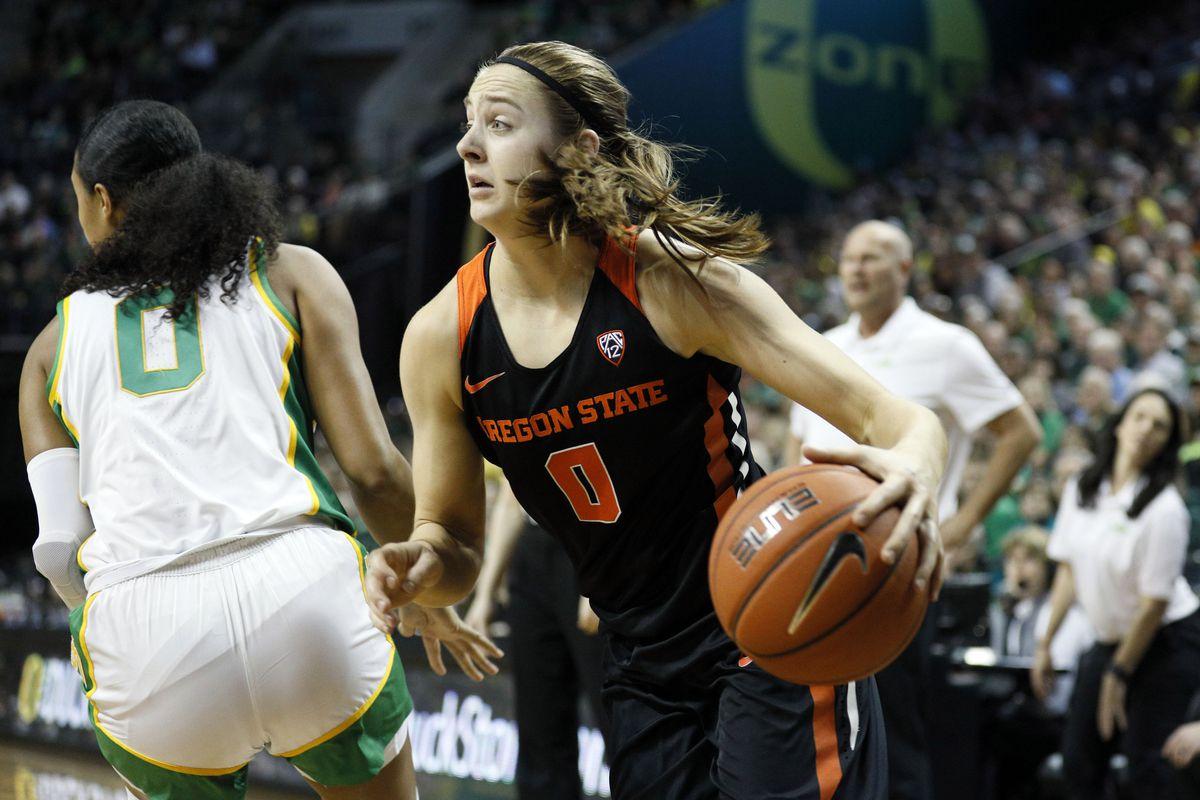 NCAA Womens Basketball: Oregon St. at Oregon