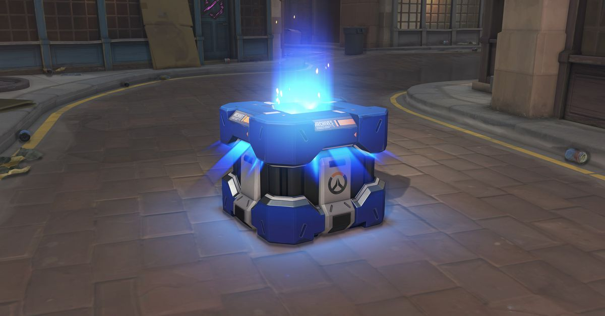 Loot boxes are the video game issue of the year