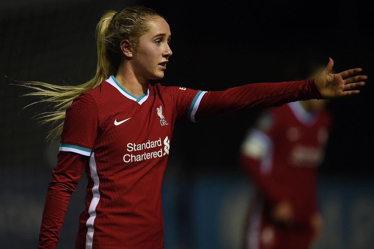 Everton v Liverpool - FA Women's Continental League Cup