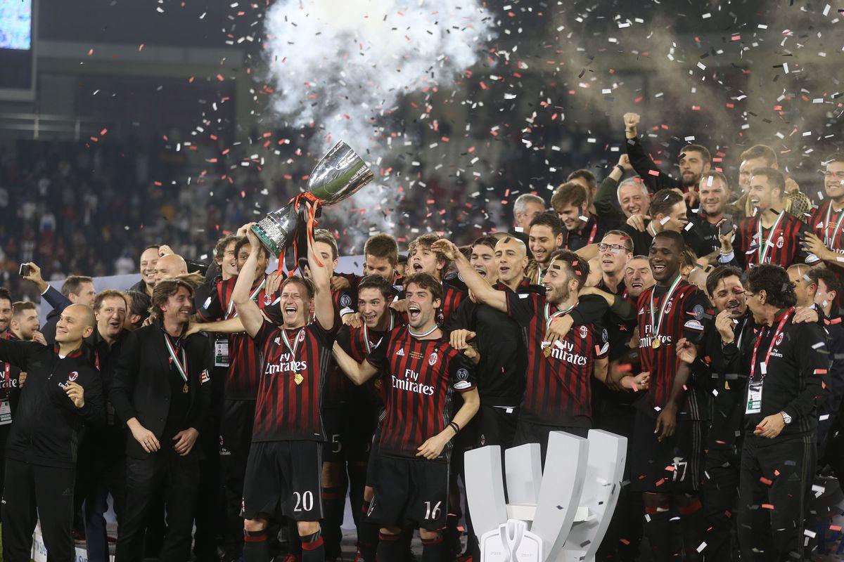 Juventus vs AC Milan - Italian Super Cup Final