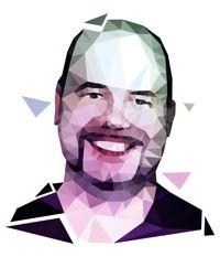 Owen Good polygon portrait