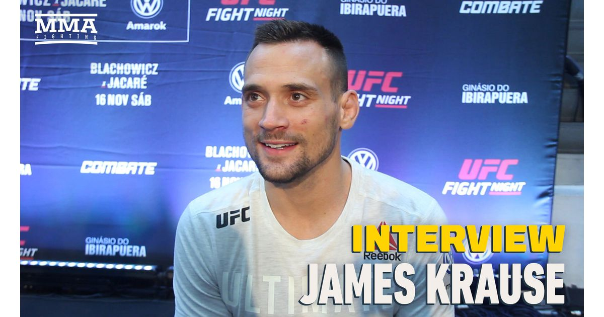 Video: With COVID-19 behind him, James Krause details road to short notice fight with Claudio Silva at UFC Fight Island 6