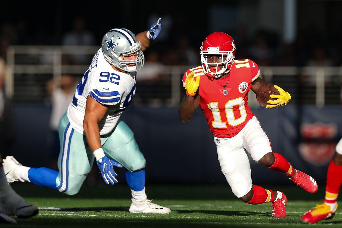NFL: NOV 05 Chiefs at Cowboys