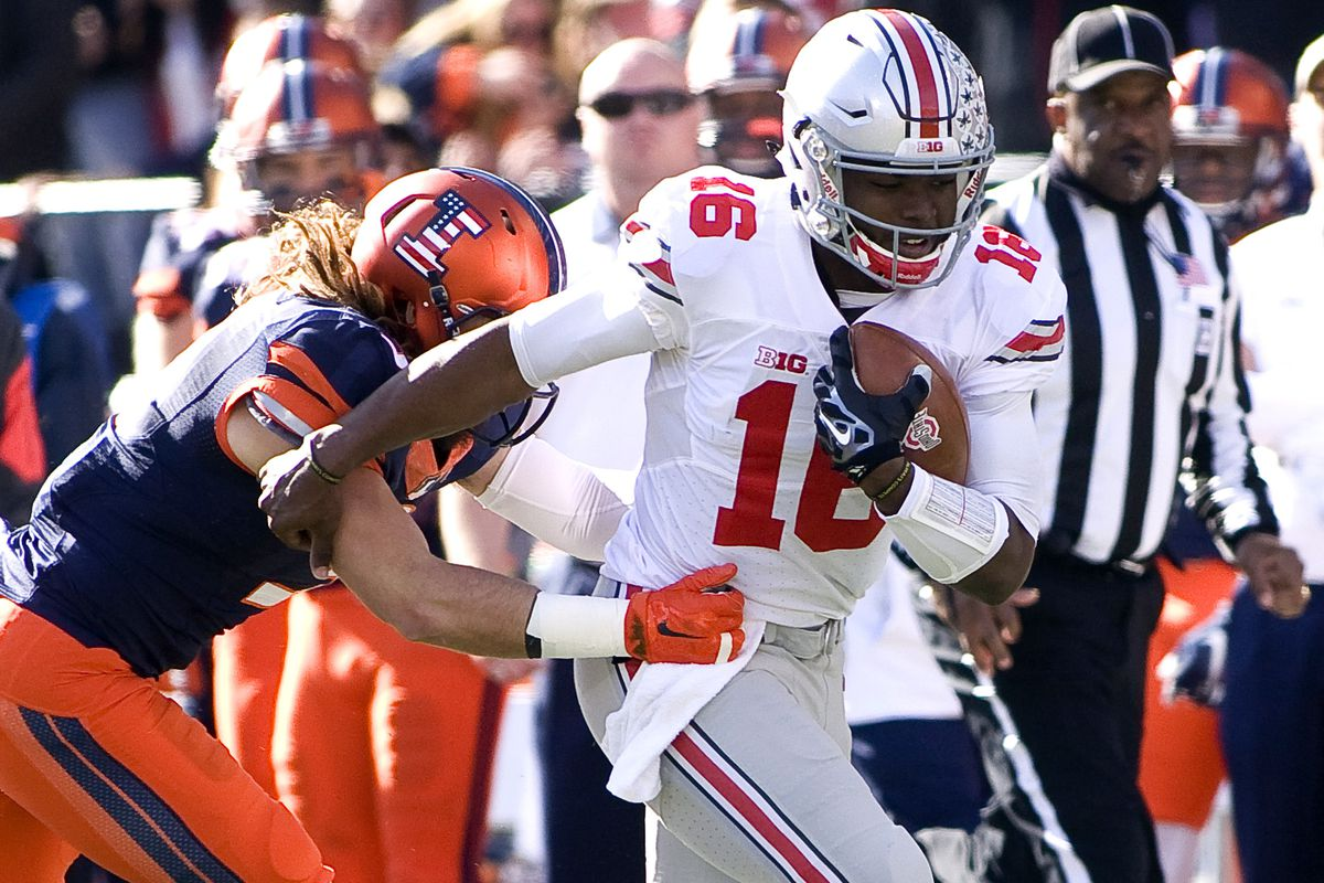 J.T. Barrett's return from suspension went smoothly with a win over Illinois.