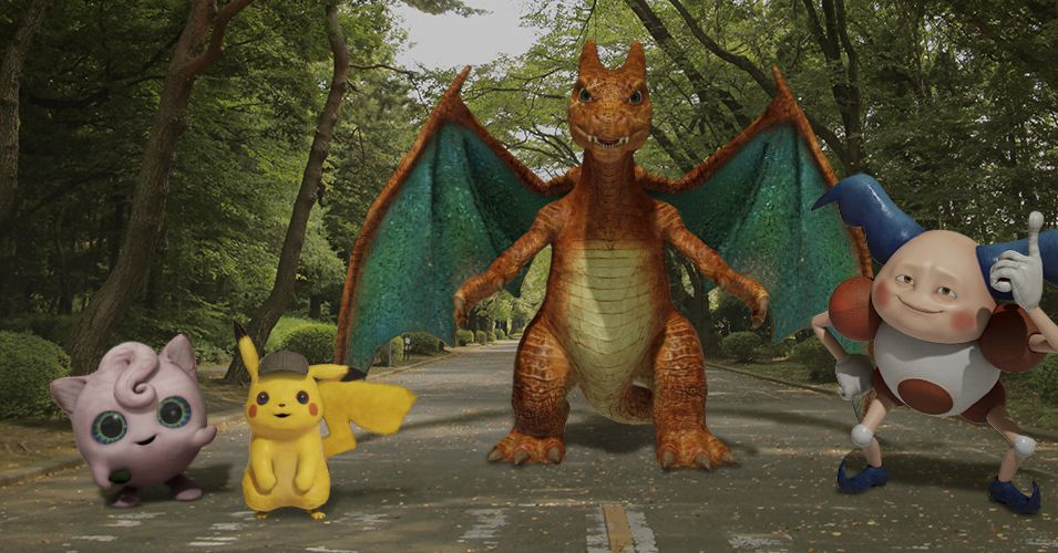 Detective Pikachu's Characters are Joining Google's Augmented Reality Lineup