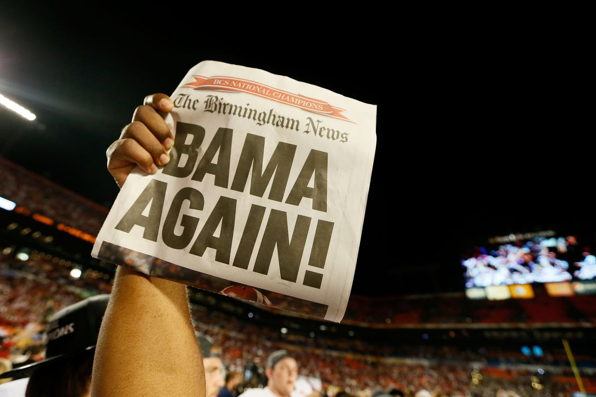 Alabama's signing class is among the best in the nation.  Again.