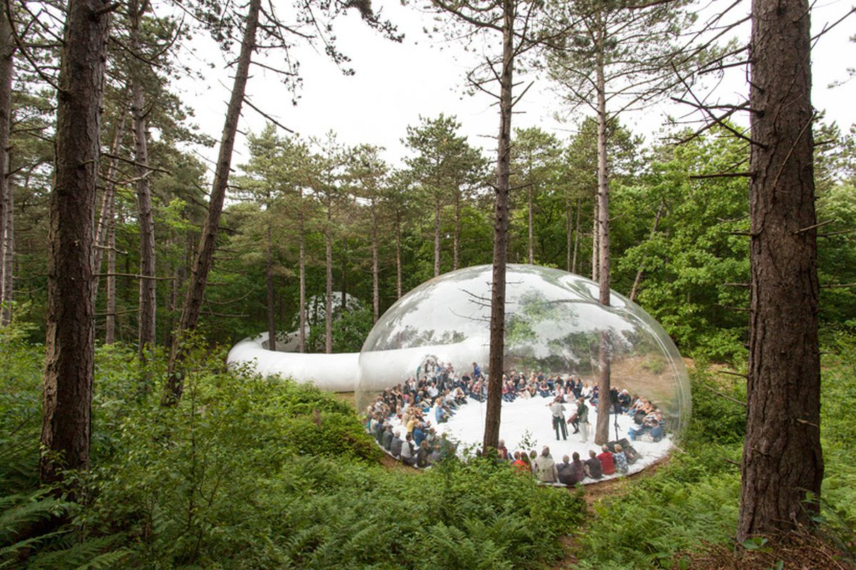 inflatable performance venue