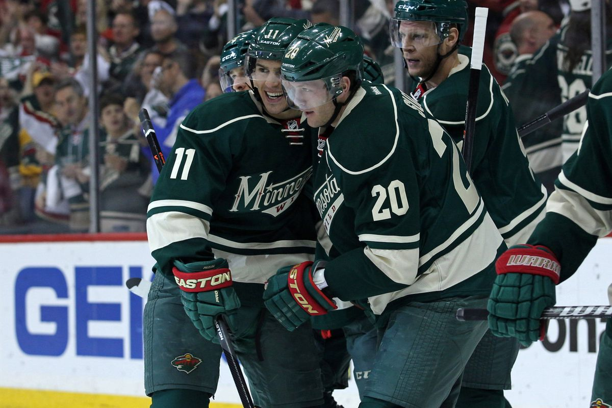 Zach Parise and Ryan Suter led the Wild to the second round. Can they take the Wild further?