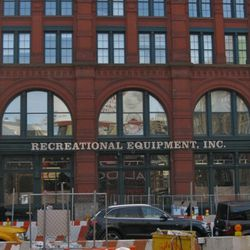 The new REI outpost along East Houston at 303 Lafayette.