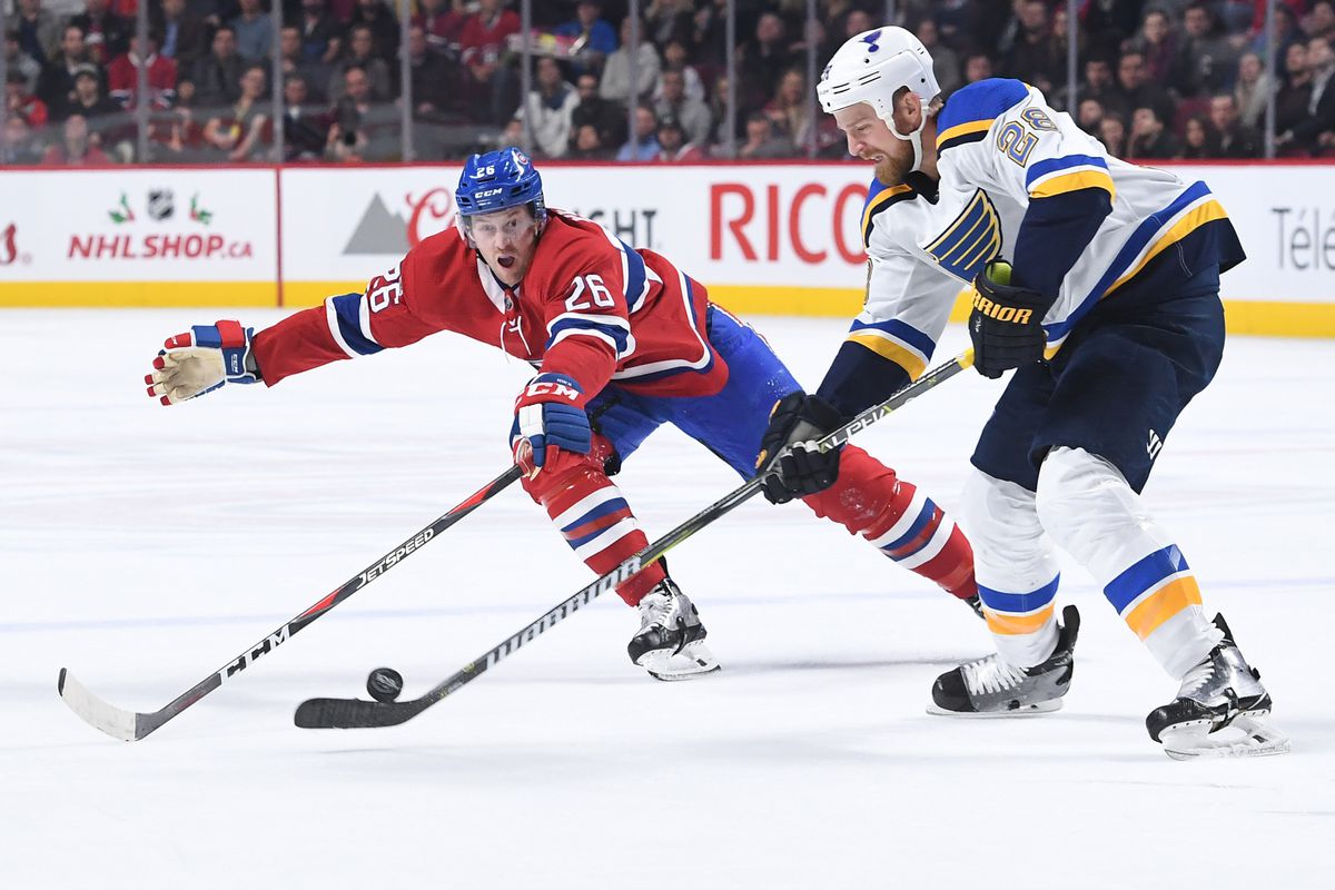 St. Louis Blues v Montreal Canadiens
