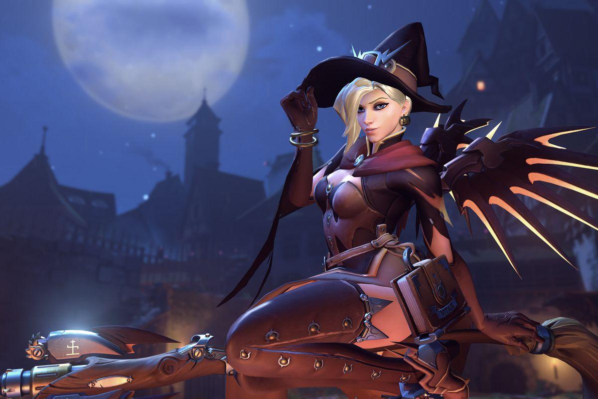 Overwatch Halloween Terror skins screenshots