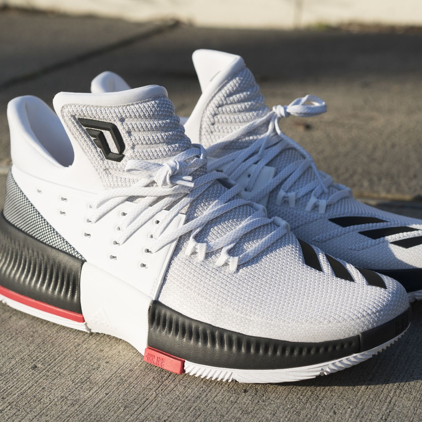Review Adidas Damian Lillard Dame 3 Shoes Blazer S Edge