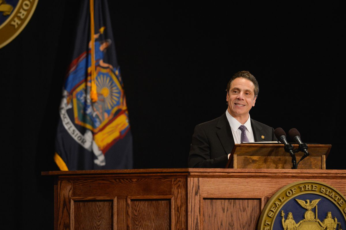 Gov. Andrew Cuomo gave his 2016 State of the State address Wednesday.