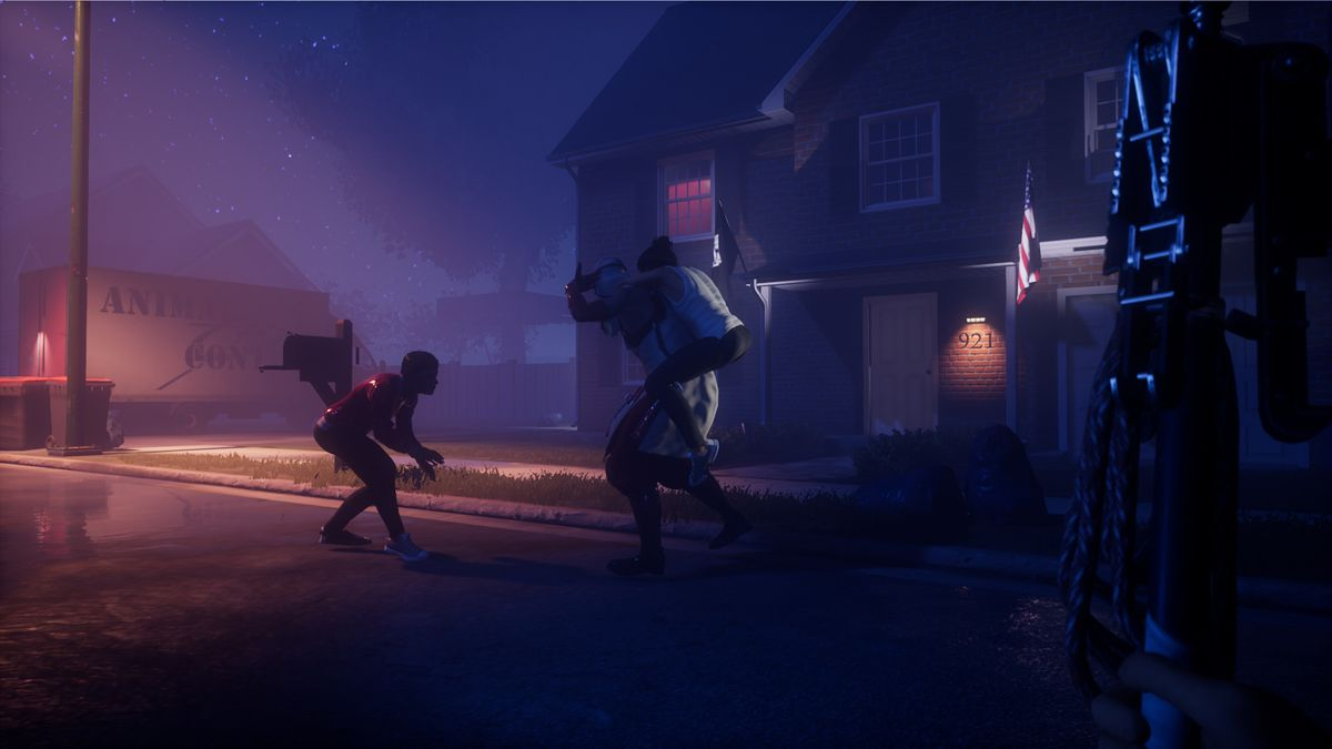 The Blackout Club - Players struggle in a dark suburb with a faceless enemy.