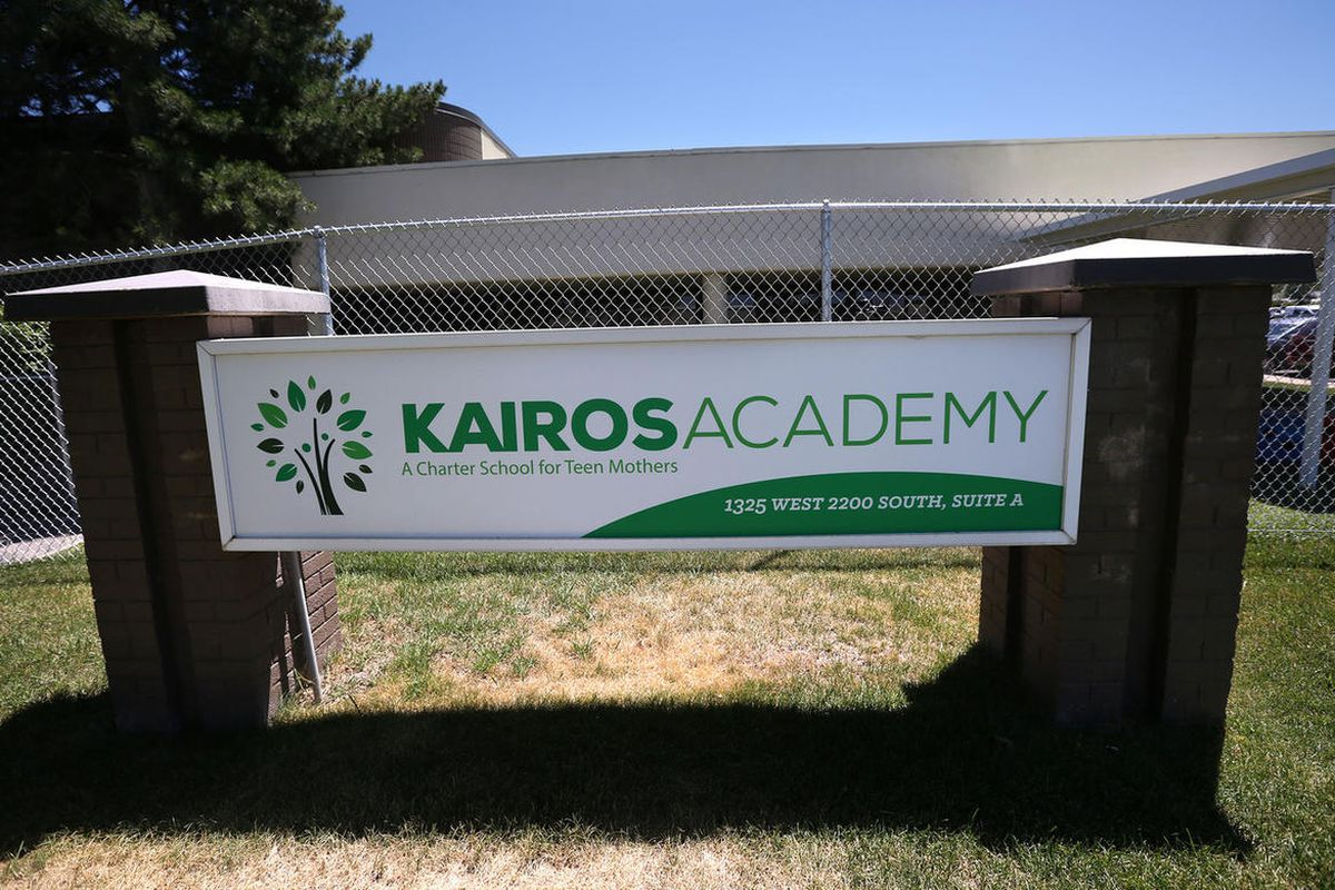 Kairos Academy is a high school for girls with unique needs, such as pregnant and parenting teens, in West Valley City on Thursday, June 22, 2017. The State Charter Board has recommended that Kairos Academy be shut down due to poor performance on standard