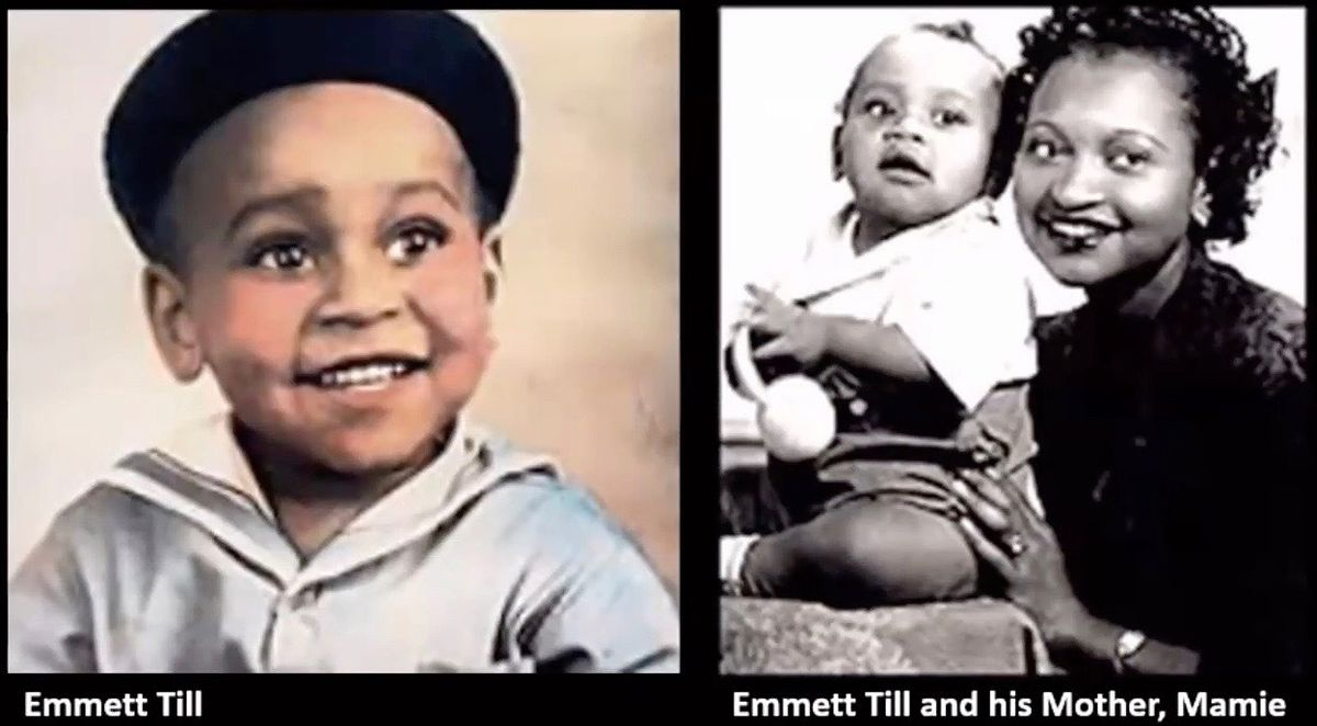 These archival family photos of Emmett Till were part of a presentation of the Chicago Department of Planning and Development in support of an ordinance landmarking the Emmett and Mamie Till-Mobley House Tuesday at a Zoom meeting of the Committee on Zoning, Landmarks and Building Standards. The City Council passed the ordinance Wednesday.