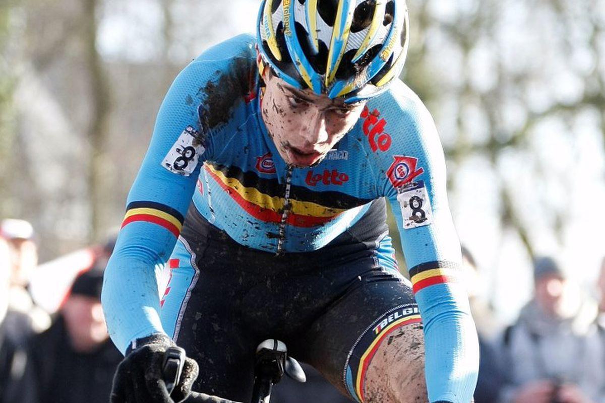 Aert to the win, Hoogerheide 2014