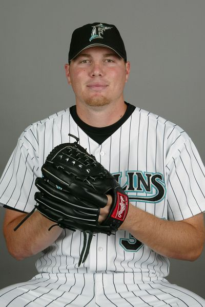 Marlins Photo Day, Blaine Neal