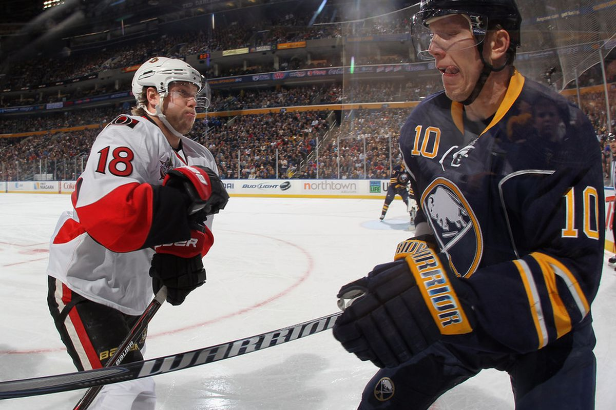 One of these players has a contract until 2021 that pays him $8,000,000 next year. The other one might not get offered a $550,000, one year deal. (Photo by Bruce Bennett/Getty Images)