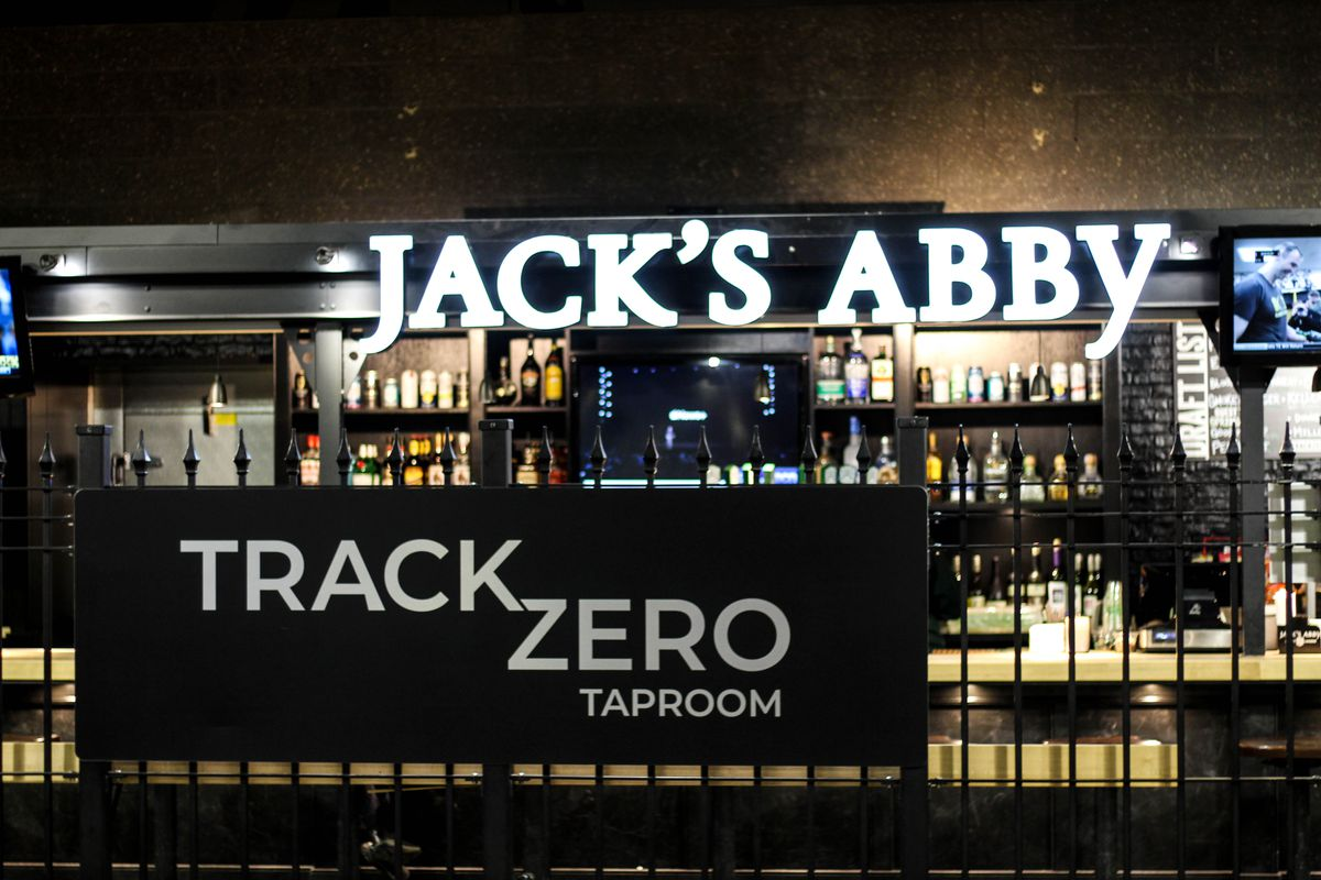 Jack's Abby taproom at North Station