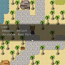 App creator Levi Hilton worked hard to make sure that his game is historically accurate. The map in the game mirrors the geography of the Apostle Paul's time, and players can even purchase items using Roman currency.
