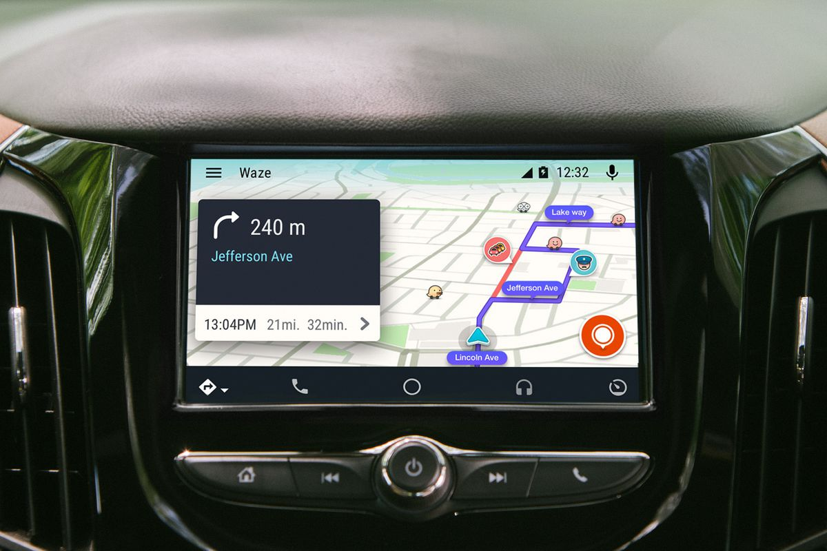 Waze Lands On Android Auto