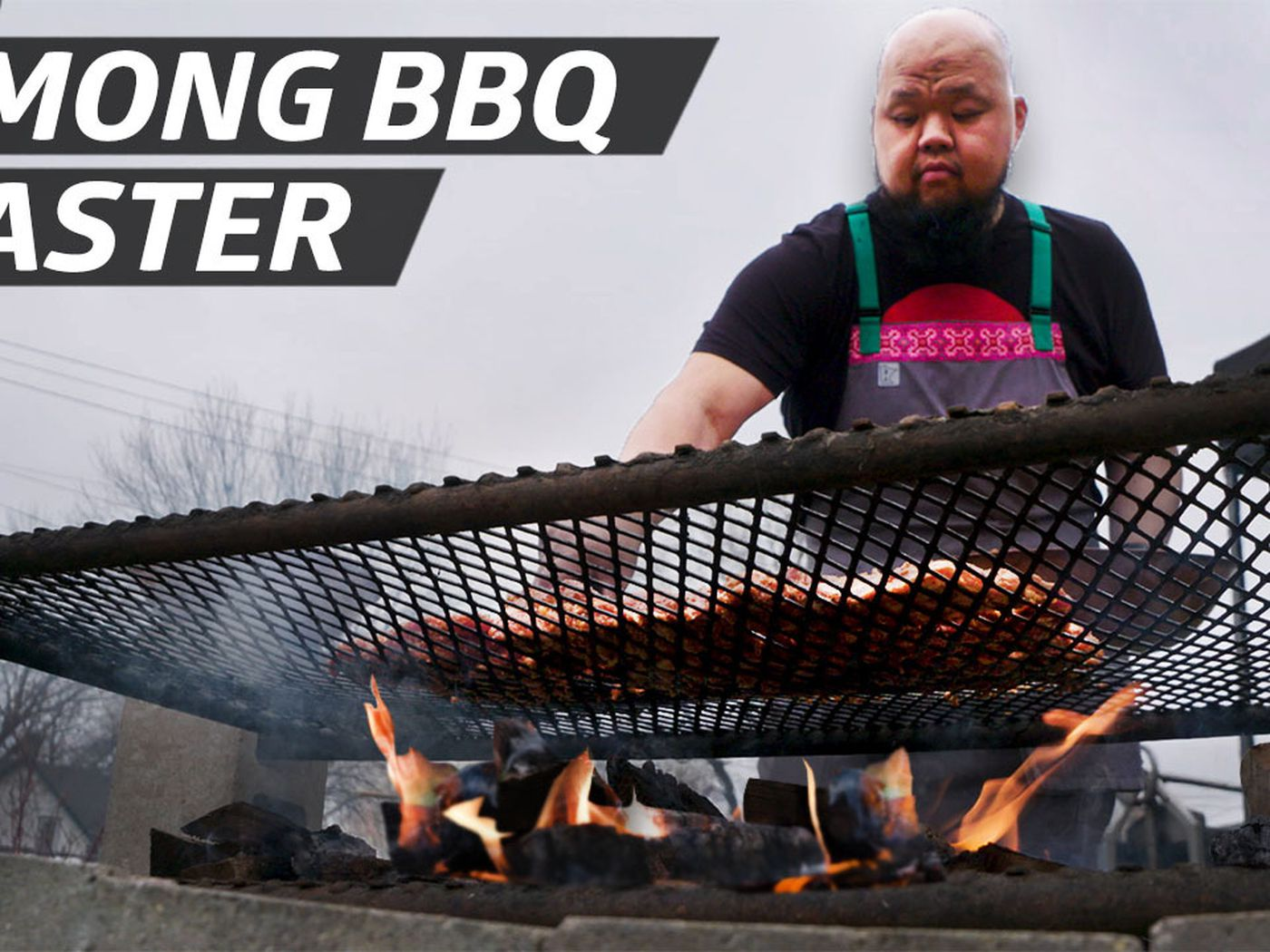 Chef Yia Cooks Hmong Food And Dishes Over An Open Fire Grill Eater