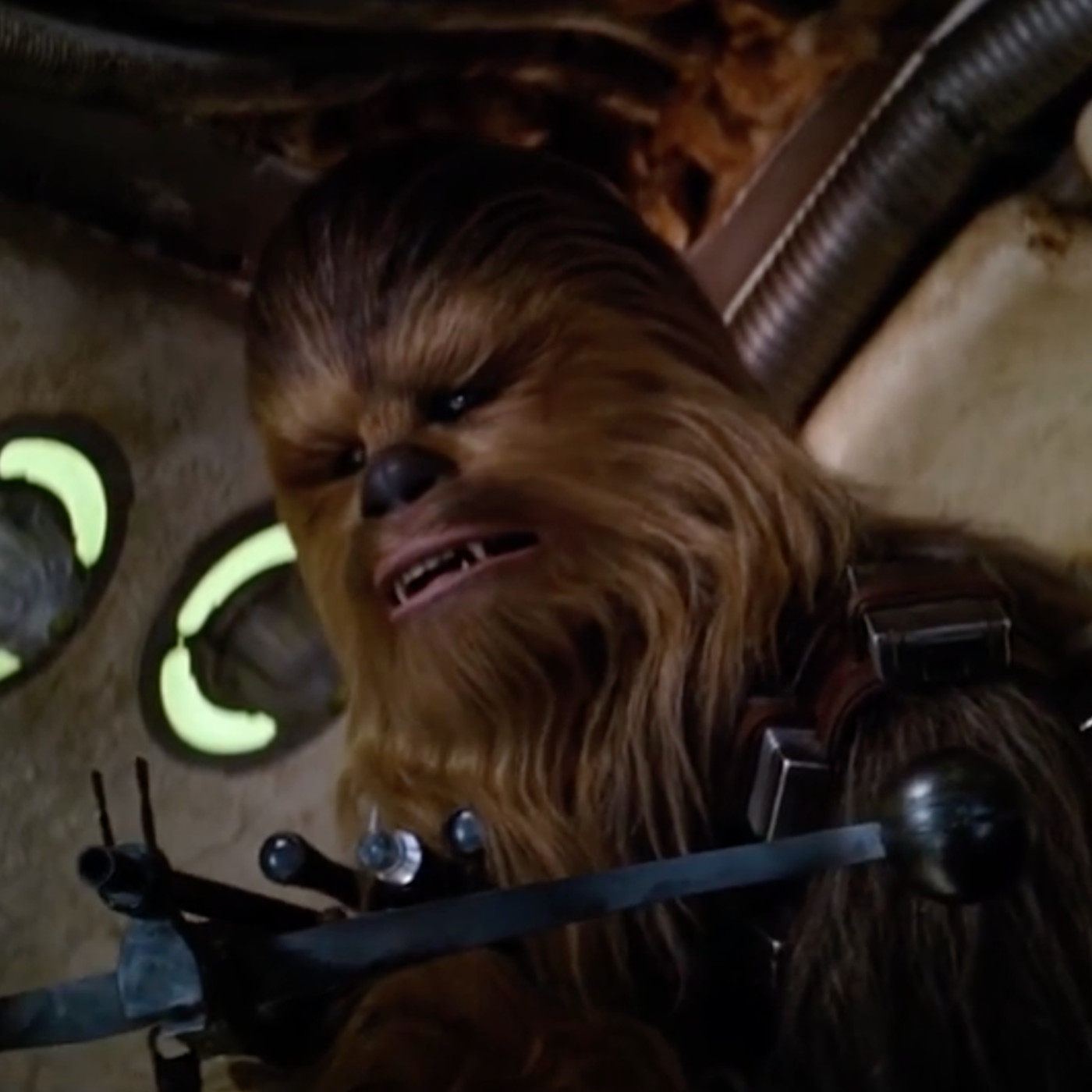 watch this supercut of every noise chewbacca makes in star wars