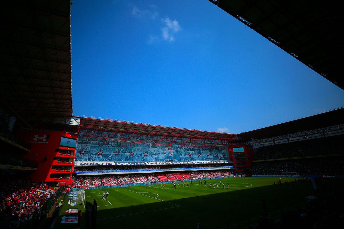 Toluca v Pumas - Torneo Apertura 2018 Liga MX