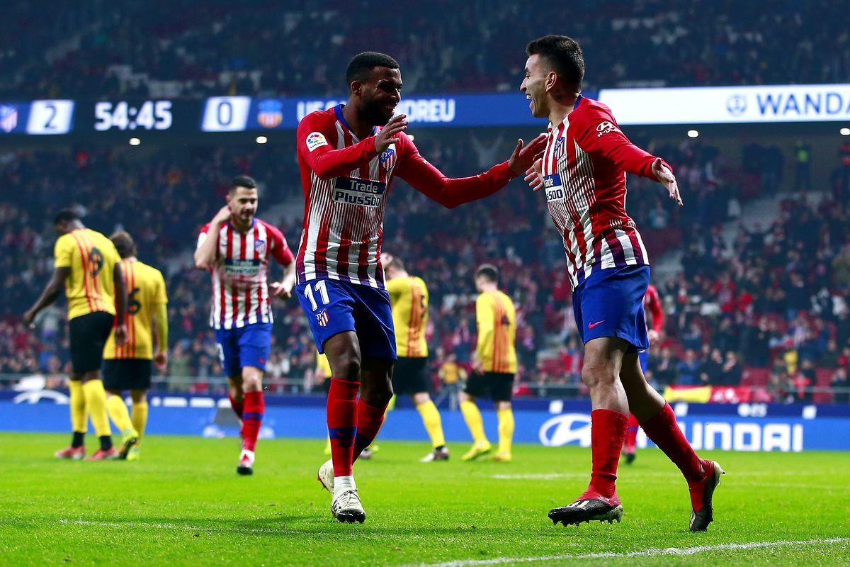 Club Atletico de Madrid v Sant Andreu - Copa del Rey - Fourth Round
