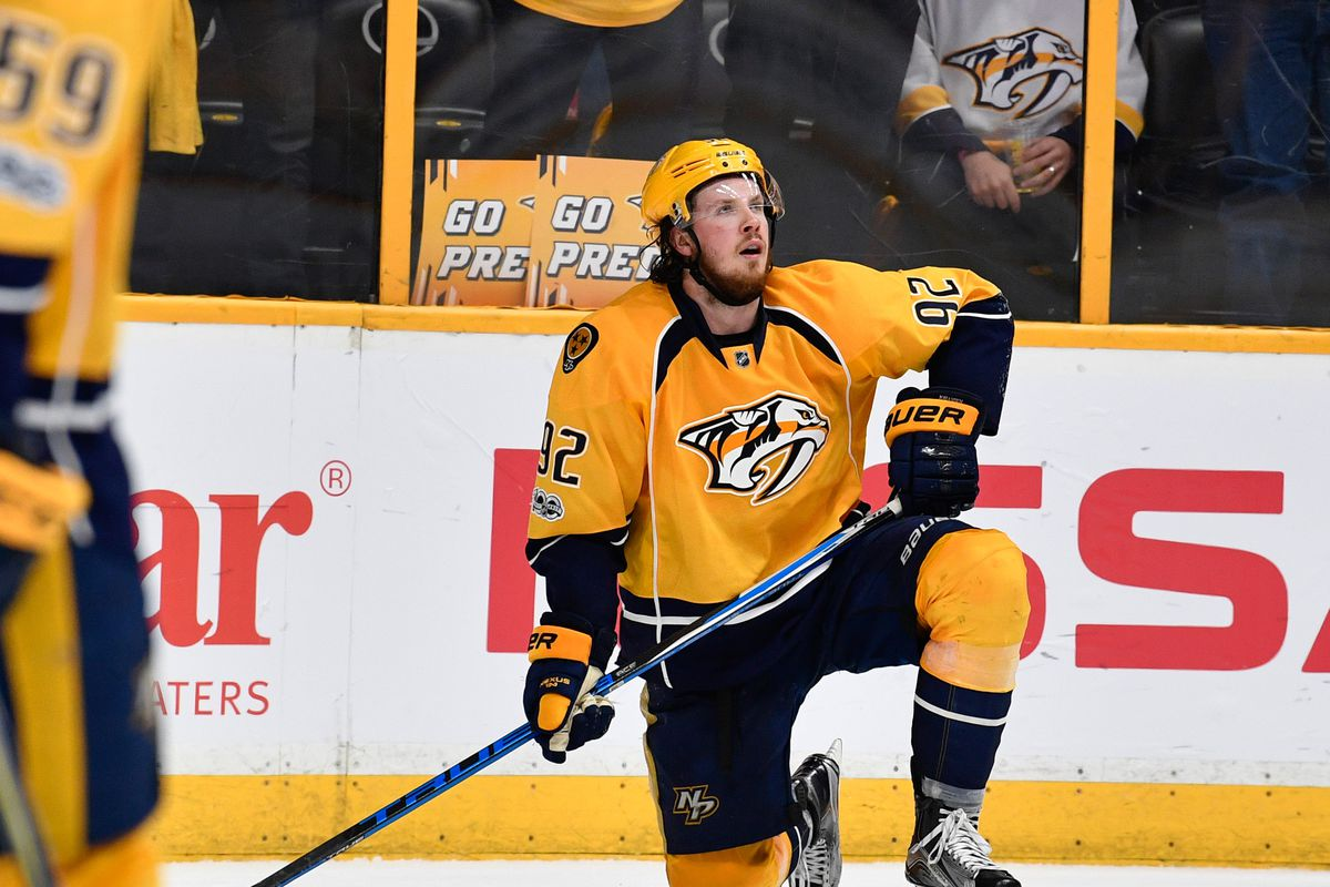 premium selection 7bd43 a4b55 What Ryan Johansen Brings to Nashville - On the Forecheck