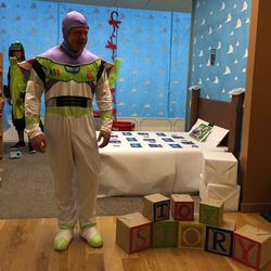The Toy Story floor.