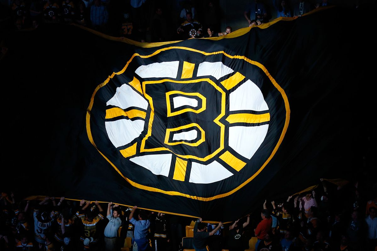 The Spoked B makes the rounds at TD Garden