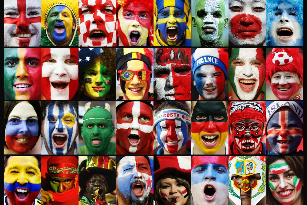 2018 Mcdonalds Fifa World Cup Fantasy Is Live Lets Get Started 18 Reg 3 Standard Edition Whether You Paint Your Face Or Not Be Sure To Join In The Colorful Fun Of Photo By Getty Images