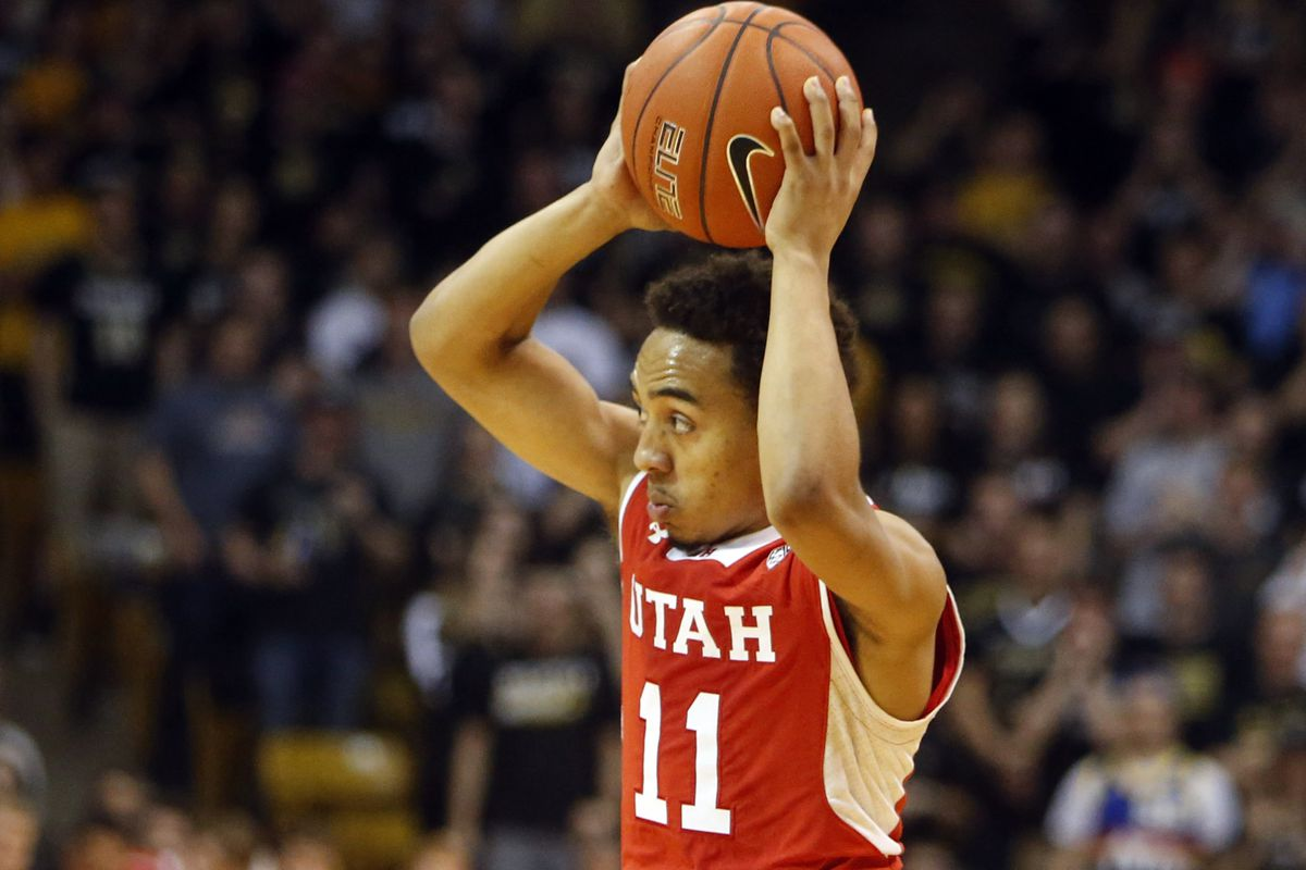 Utah guard Brandon Taylor led the No. 13 Utes to a 29-point dismantling of the Colorado Buffaloes in Boulder.