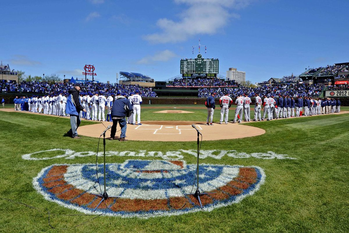 Whether it's at Wrigley Field or in the lowest of the minors, there is something special about Opening Day. Credit: Rob Grabowski-US PRESSWIRE