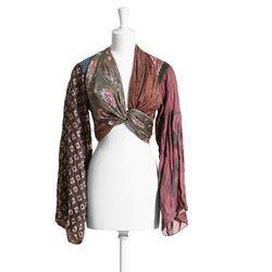 Silk top, $149