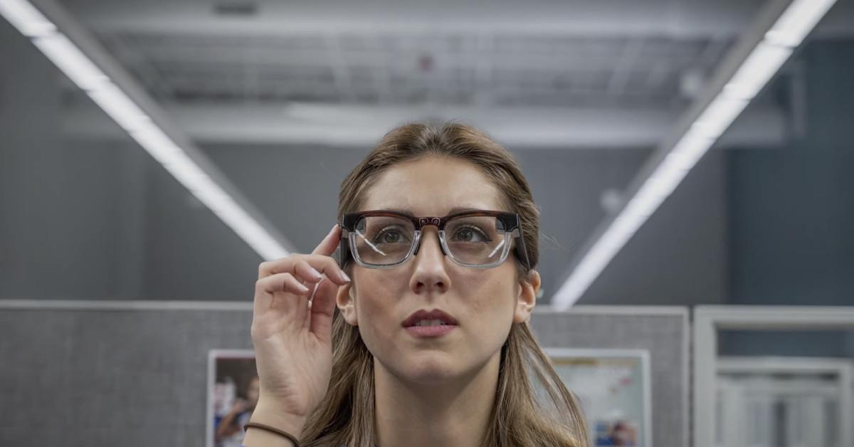 Vuzix's microLED smart glasses