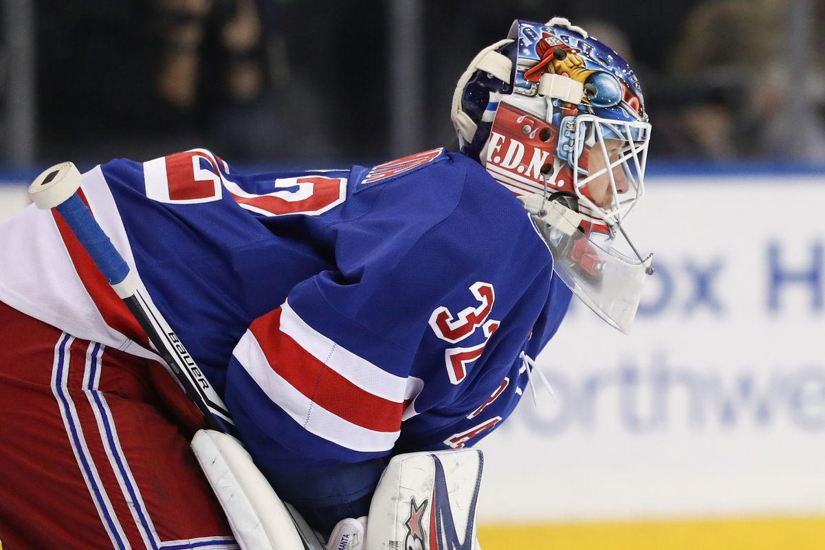 NHL: Vancouver Canucks at New York Rangers