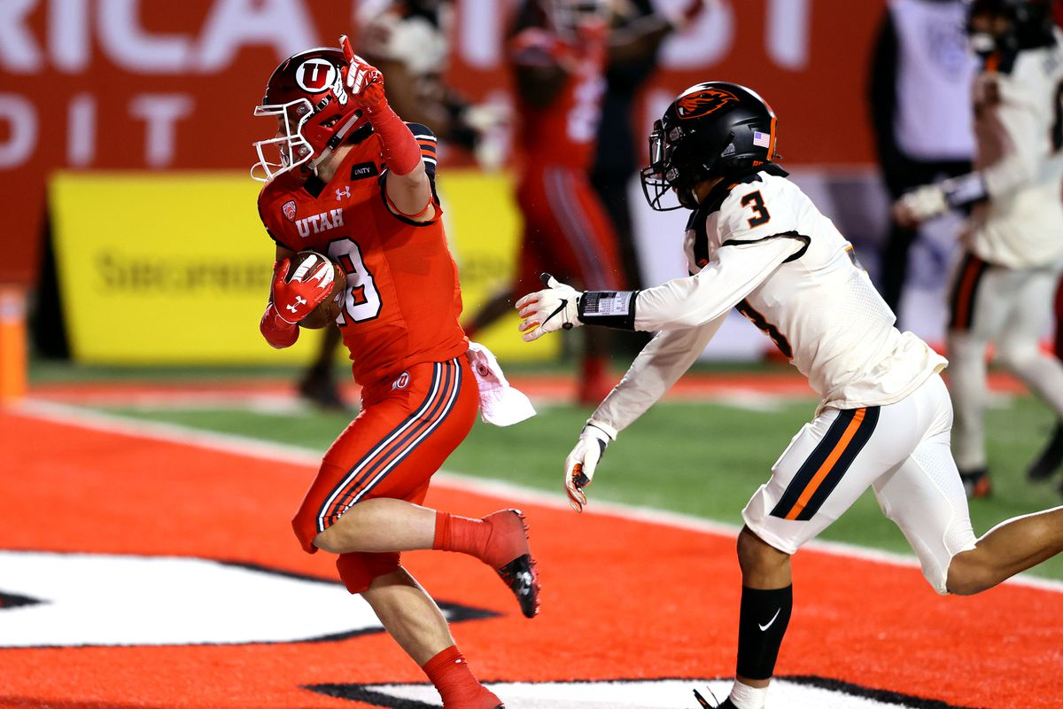 Wide receiver and return specialist Britain Covey, a Utah County native, has found tremendous success at Utah.
