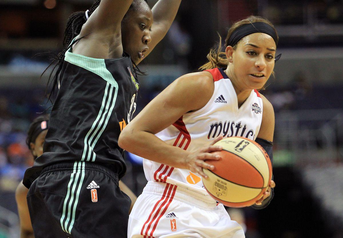 WNBA: JUL 09 Liberty at Mystics