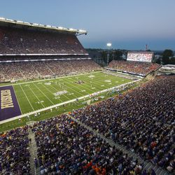 A look at the newly-renovated Husky Stadium.