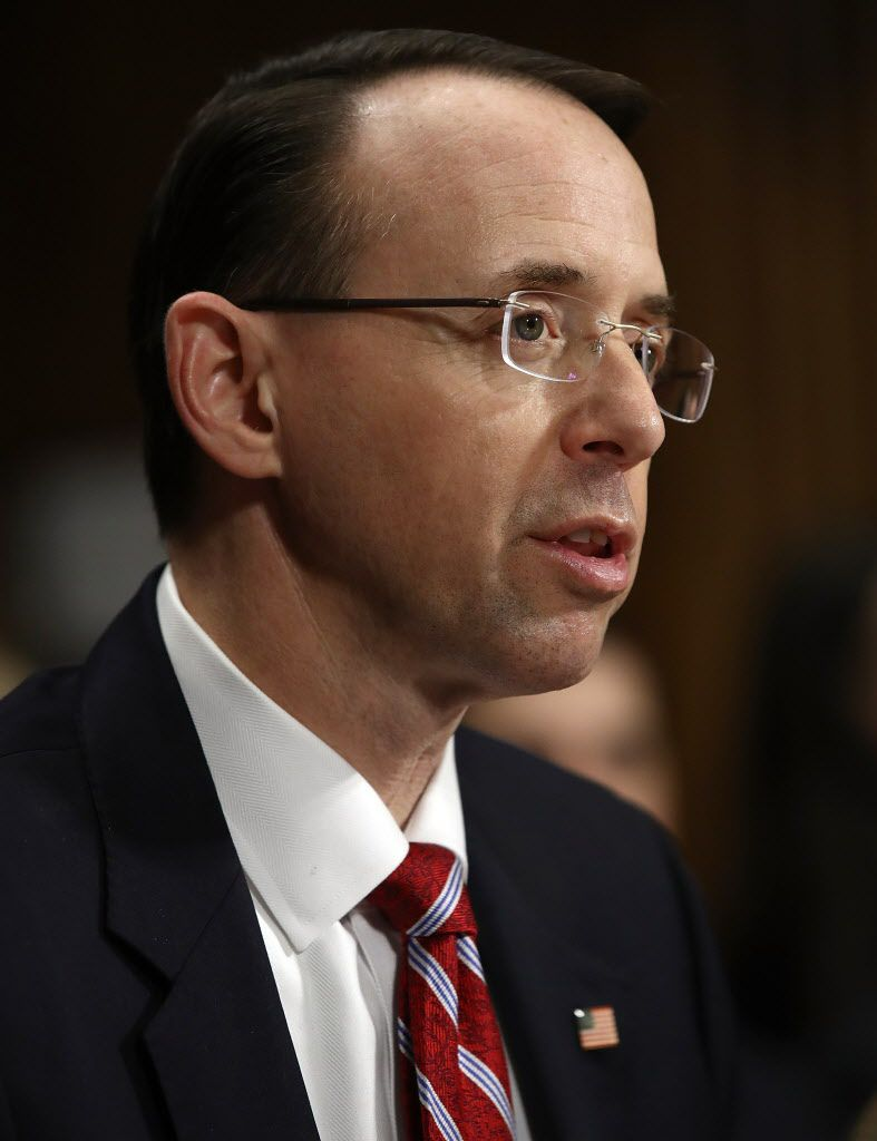 Deputy U.S. Attorney General nominee Rod Rosenstein. | Getty Images