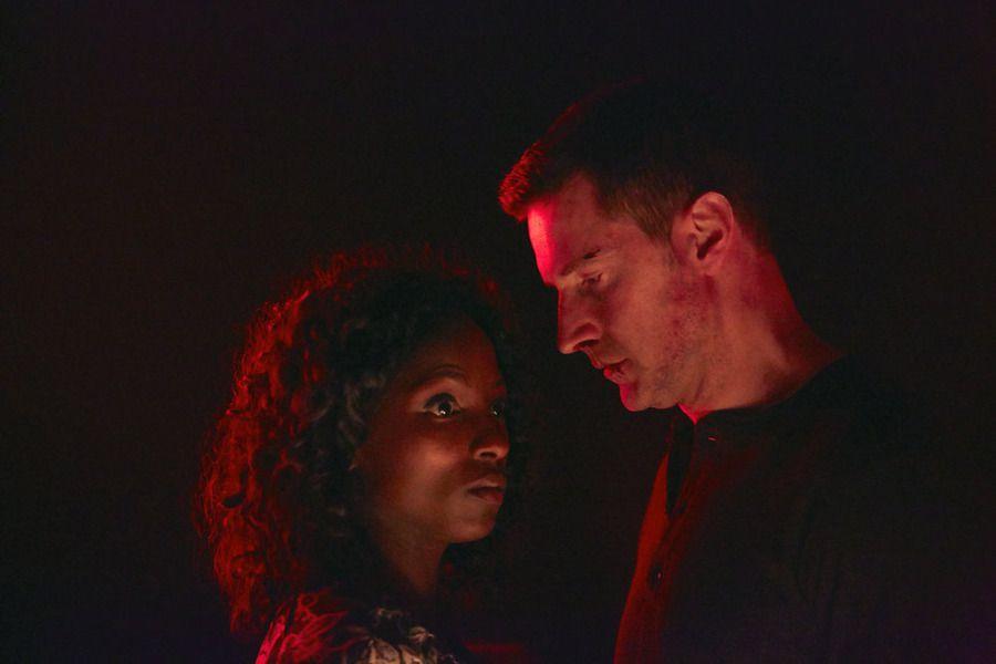 Reba and Francis in Hannibal.