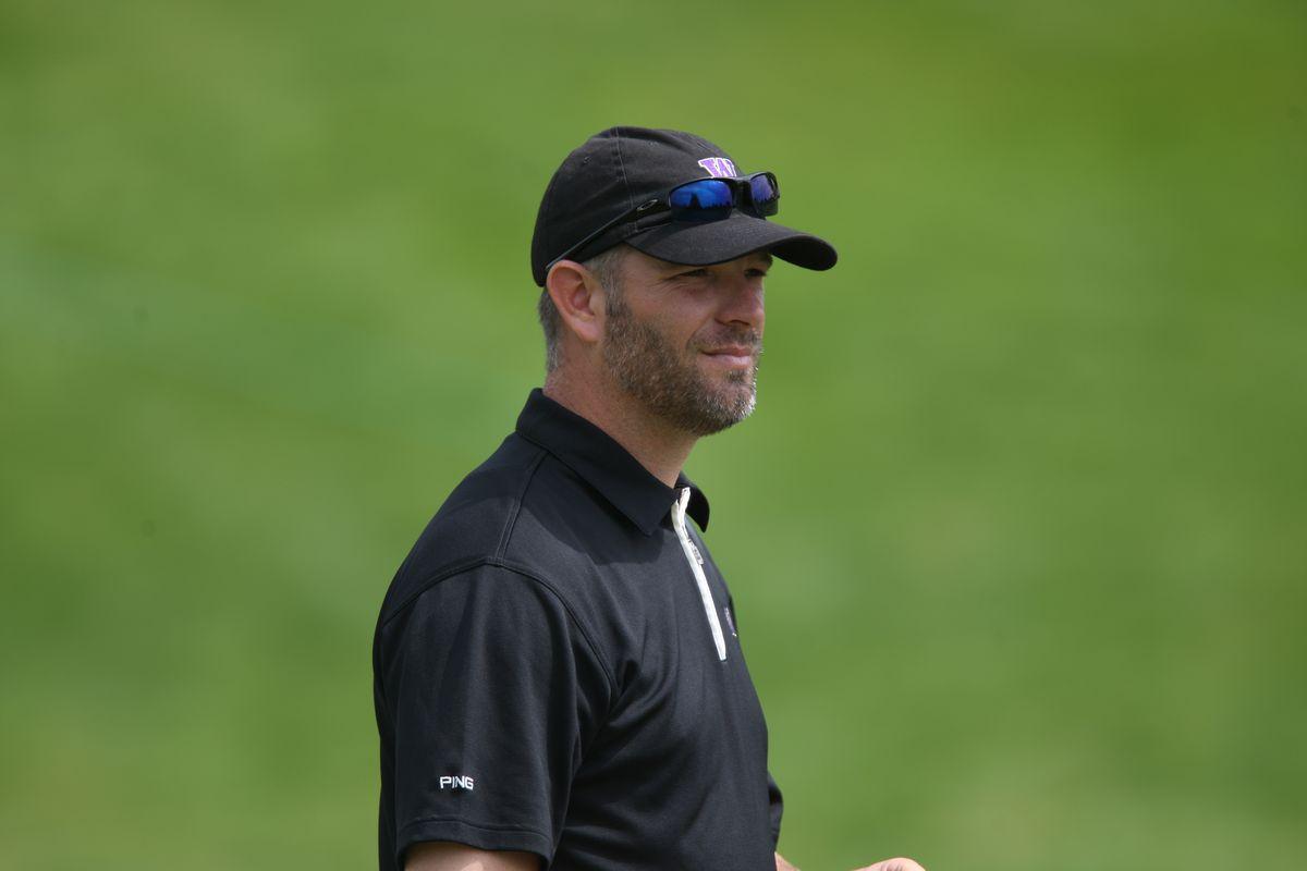 UW Men's Golf Coach Matt Thurmond