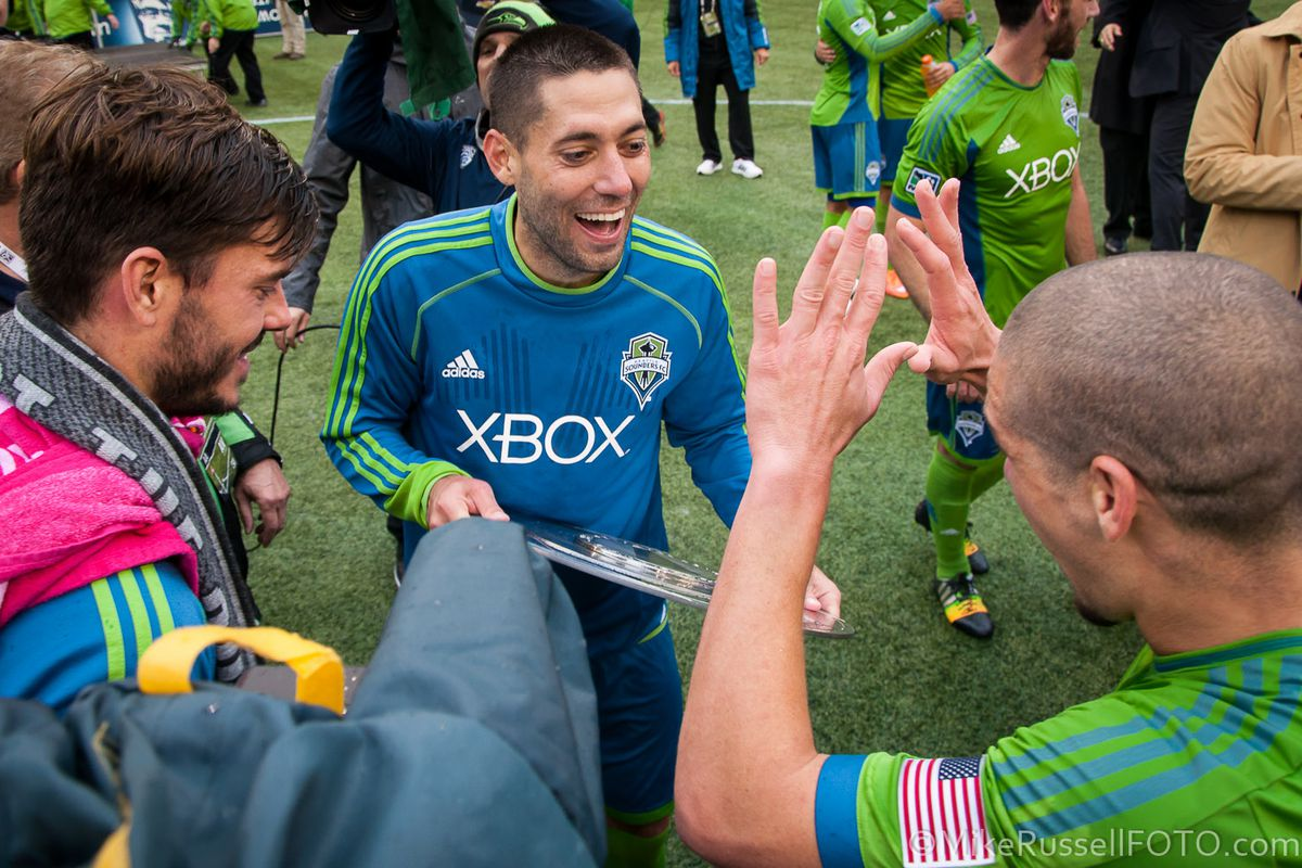 If he gets a MLS cup to go with his Shield, maybe Clint won't go.